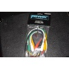 Power Cables 10x jackkabel gekleurd